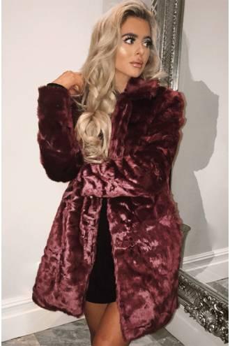 wine-faux-fur-coat