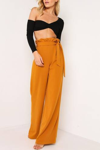 Pantalon Caprice Mustar