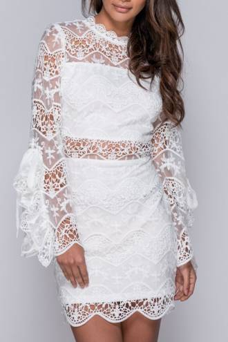 lace-tie-sleeve-bodycon-dress