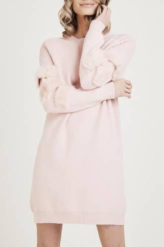 Rochie/pulover Candice Pink
