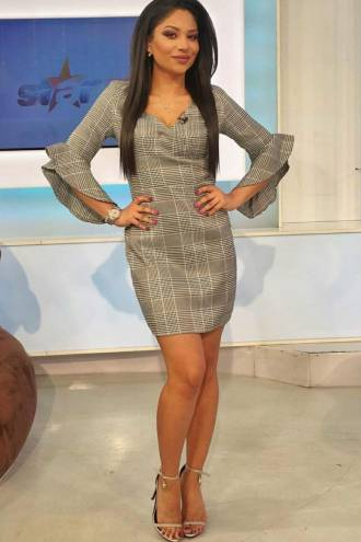 Rochie Checked Grey