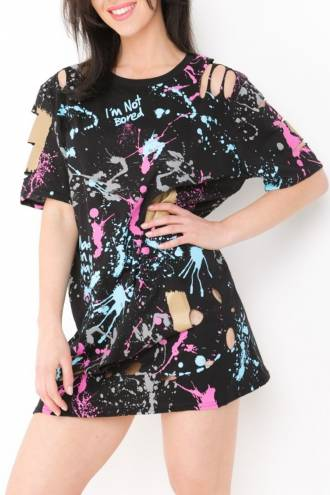 Tricou Paint Splash