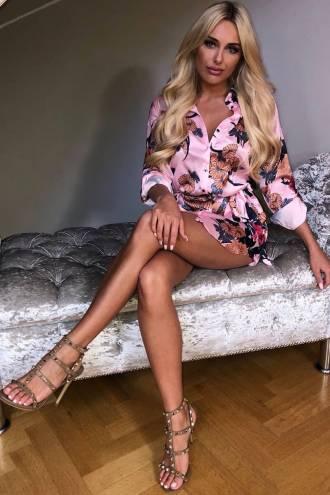 Rochie/camasa Diva Pink