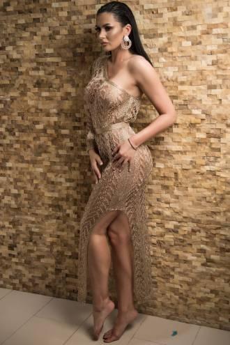 Rochie Selma Gold
