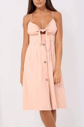 Rochie Lyra Soft Pink