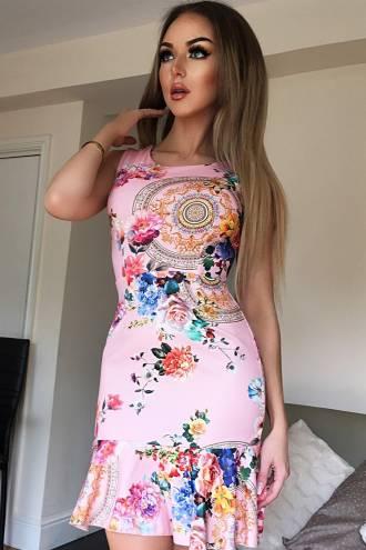 Rochie Helena Pink