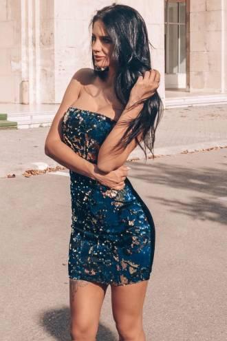 multi-colour-sequin-bandeau-dress