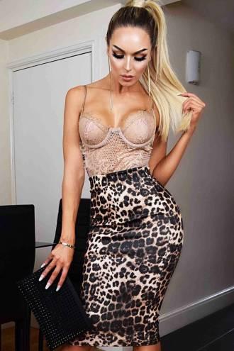 Fusta Kaira Leopard