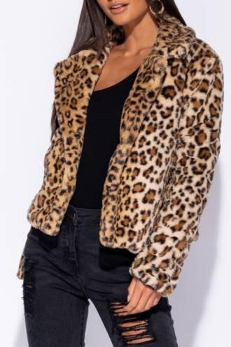 Haina de Blana Scurta Leopard