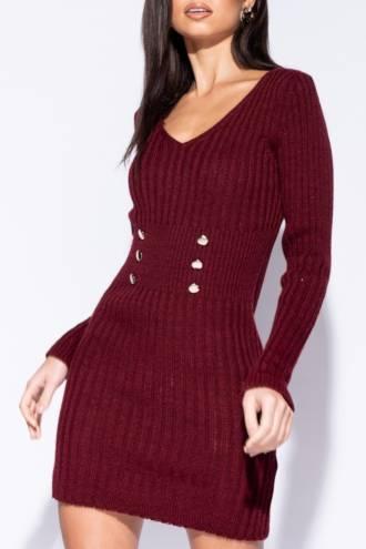 Rochie/pulover Gina Bordo