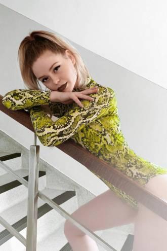 Body Neon Snake Green