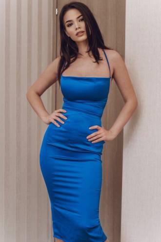Rochie Valentina Blue