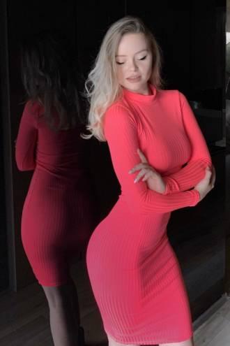 Rochie Susy Neon Pink