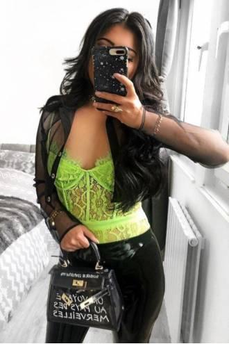 Body Daisy Neon Green