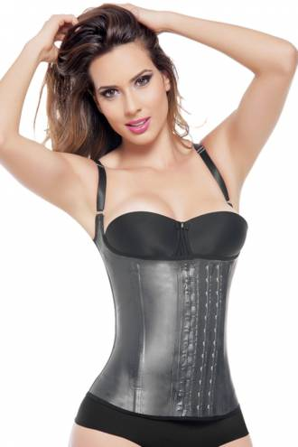 Vesta Aggressive All Latex Negru/Nude