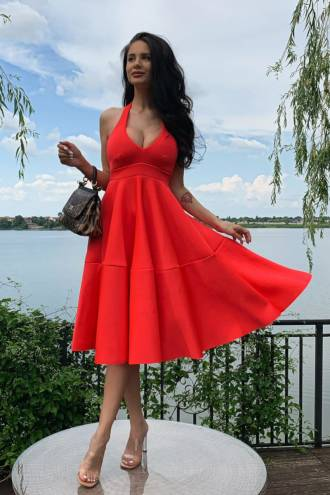 Rochie Marylin Coral