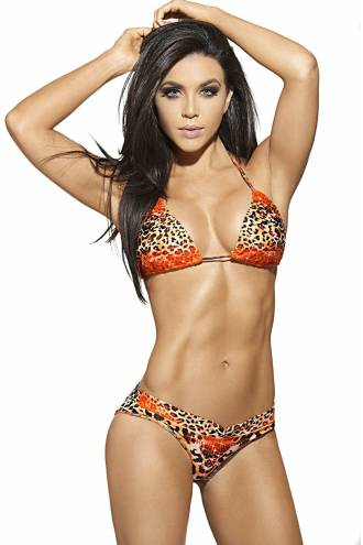 "Costum de baie ""Shine on Leopard"" 14134"