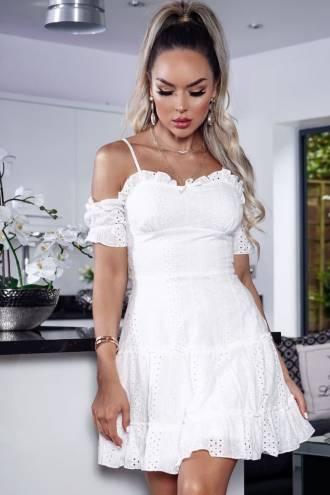 Rochie Bianca White