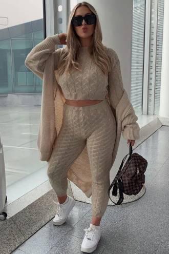 Compleu Knit Beige